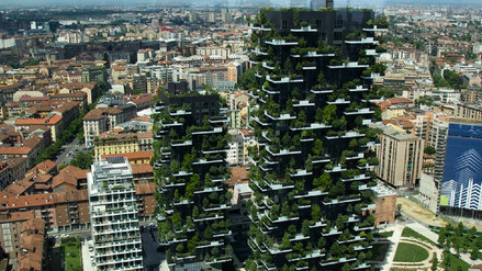Bosques a 100 metros sobre el suelo, los edificios del futuro