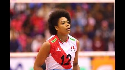 Ángela Leyva fue la capitana en el equipo que ganó la medalla de oro en el Sudamericano de Menores del 2012.