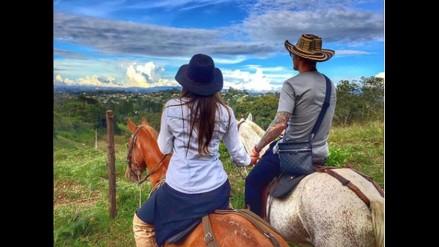 Larizza Riquelme ahora no se desempeña tanto como modelo y tiene un blog de cuidados estéticos. Está alejada de los escándalos y se dedica más a su familia.