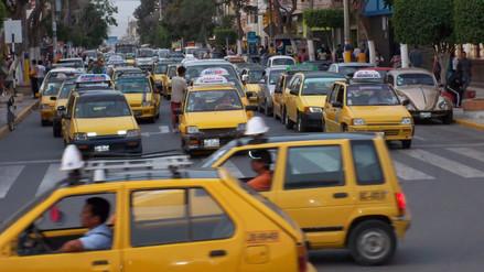 Circulación de taxis crece desmesuradamente en Chiclayo