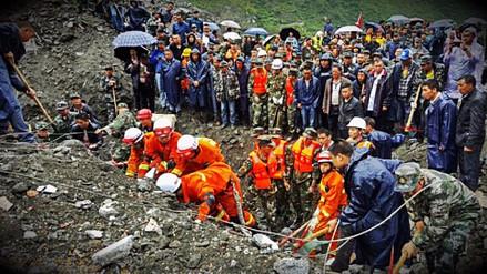 Al menos 15 muertos tras alud en provincia de Sichuan en China