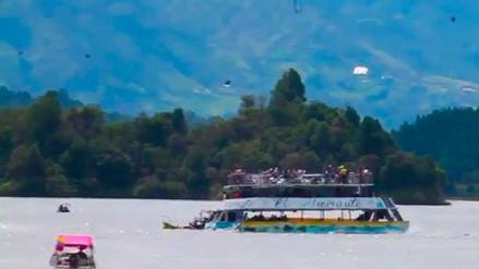 Al menos seis muertos y 31 desaparecidos por naufragio de embarcación en Colombia
