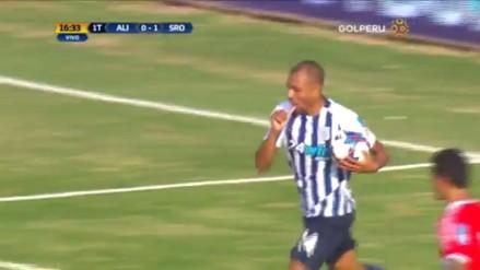 Luis Ramírez anotó tras una buena combinación de Alianza Lima