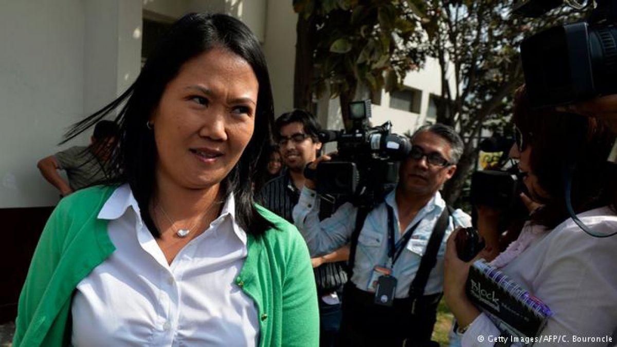Fiscalía pedirá a Brasil las supuestas notas de Odebrecht sobre Keiko Fujimori