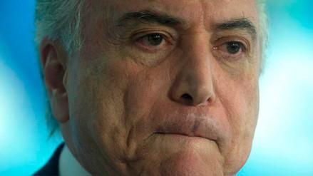 La Fiscalía de Brasil denunció al presidente Michel Temer por corrupción pasiva