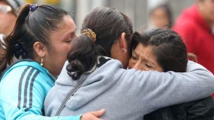 """Madres de jóvenes atrapados en los containers: """"Atrapen a los asesinos"""""""
