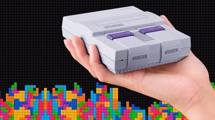 Nintendo anunció el Super Nintendo Classic con 21 juegos