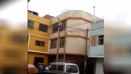 Vecinos reportan que alumbrado público es apagado frecuentemente de noche