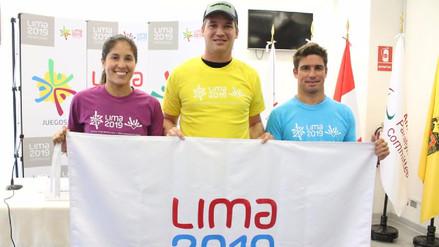 Alexandra Grande, Nicolás Fuchs y Piccolo Clemente son los embajadores de Lima 2019