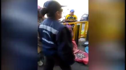 Arequipa: ambulantes de mercado obstaculizan pistas y veredas