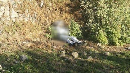 Hallan muerto a hombre en campos de cultivo en Cayma