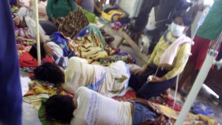 Evacúan a más personas intoxicadas a centro de Salud de Contamana