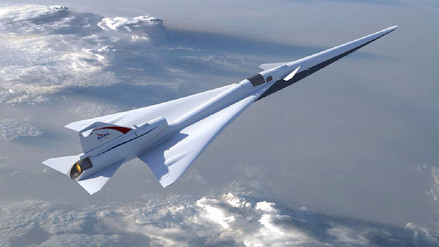 Así será el avión supersónico silencioso que desarrolla la NASA
