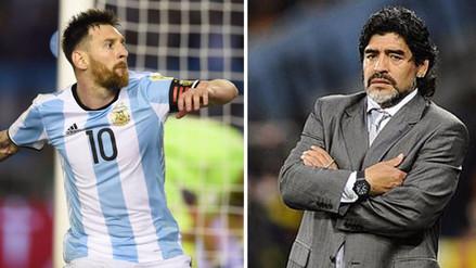 Maradona no figura en la lista de invitados de la boda de Lionel Messi