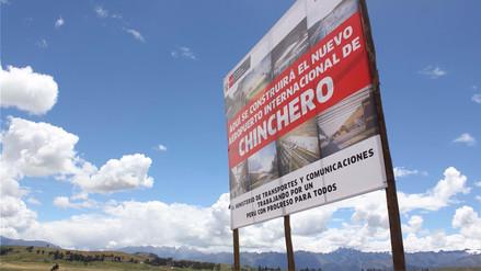Aprueban que aeropuerto de Chinchero se construya como obra pública