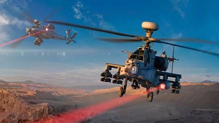 Estados Unidos probó con éxito un láser montado en un helicóptero militar