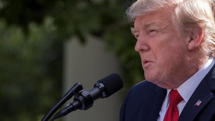 Trump urge encontrar rápidamente una solución a las amenazas norcoreanas