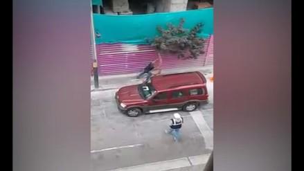 Obrero tala árboles y los esconde en una construcción en Pueblo Libre