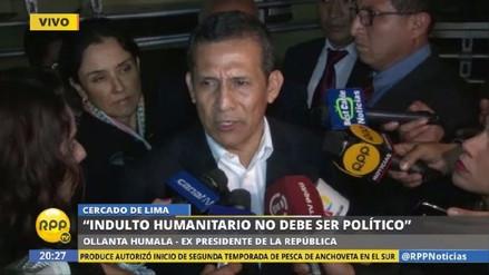 Ollanta Humala señala que existe un