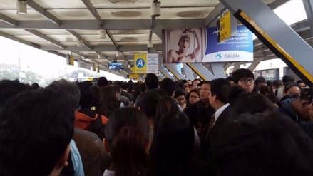 Fueron reabiertas cuatro estaciones del Metropolitano tras el incendio