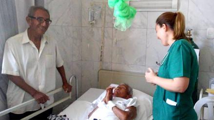 Piden ayuda para pareja de ancianos en desamparo en Catacaos