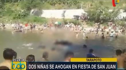 Dos niñas mueren ahogadas en celebración de Fiesta de San Juan