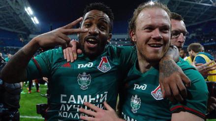 Jefferson Farfán renovó con el Lokomotiv por una temporada más