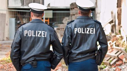 Policías alemanes envueltos en un escándalo tras una noche de sexo y alcohol