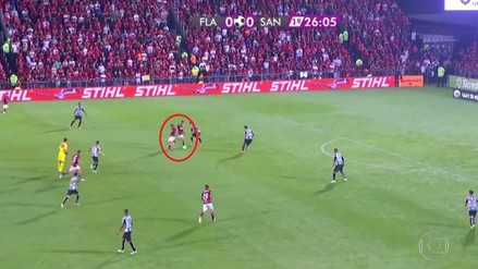 El genial pase de taco de Paolo Guerrero para el golazo de Éverton