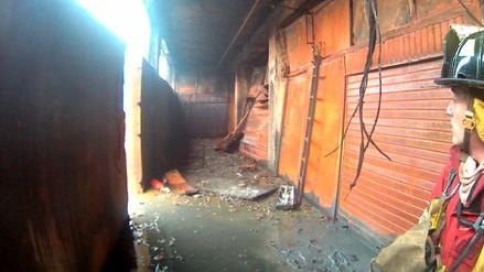 Fotos   Así quedó por dentro la galería Nicolini tras el incendio