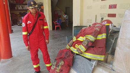 Bomberos de Chiclayo piden renovación de equipos tras emergencia