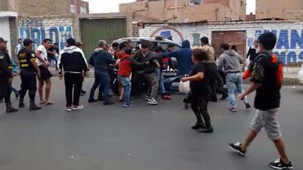 Huacho: vecinos se enfrentan a policías para liberar a requisitoriados detenidos