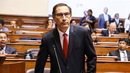 Martín Vizcarra sobre audio con el contralor:
