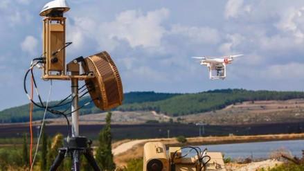 Sistema antidrones israelí ahora cuenta con un arma láser