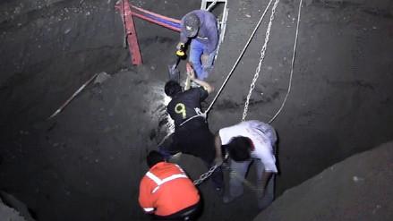 Cañete: dos obreros mueren sepultados en obra de alcantarillado