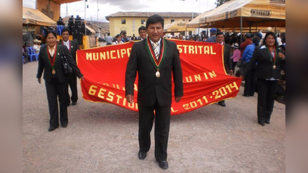 Jauja: Jurado Nacional de Elecciones retira de su cargo a alcalde de Paccha