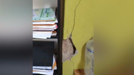 Callao: Vivienda está a punto de colapsar debido a una construcción sin licencia