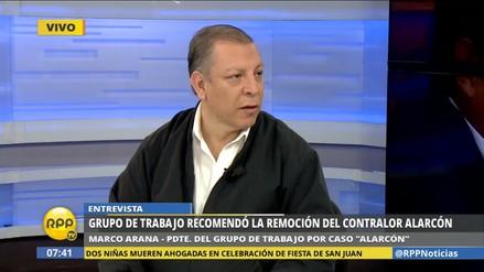 """Marco Arana: """"Antes tuvimos los vladivideos, ahora tenemos los alarconaudios"""""""