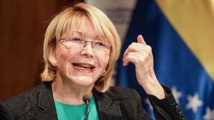 Poder Judicial congeló las cuentas de la fiscal de Venezuela y le impidió salir del país
