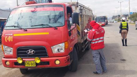 Junín: Sutran controlará tránsito de vehículos de carga pesada en La Oroya
