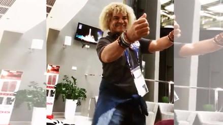 Carlos Valderrama enciende las redes bailando el nuevo tema de J Balvin