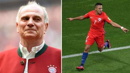Presidente del Bayern Munich descartó el fichaje de Alexis Sánchez