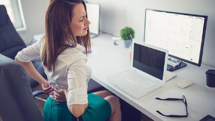 El síndrome del trasero muerto, un riesgo de la vida sedentaria