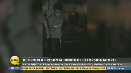 Desarticulan una banda de extorsionadores en Puente Piedra