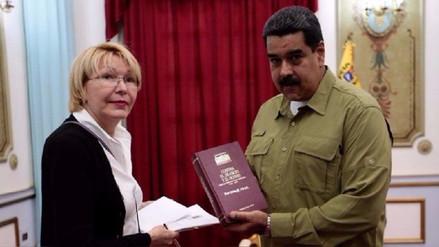 El Gobierno de Maduro acusó a la fiscal de Venezuela de dirigir un golpe de Estado