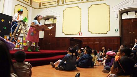 """Teatro volvió a palacio de Chiclayo con la obra """"El soplador de estrellas"""""""