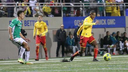 Velocidad y definición: así fue el gol de Andy Polo en triunfo del Morelia