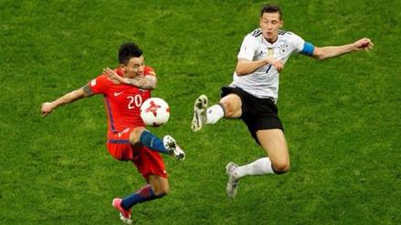 Alineaciones de Alemania y Chile para la final de la Copa Confederaciones