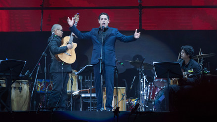 Juan Diego Flórez se presentó en el estadio Nacional