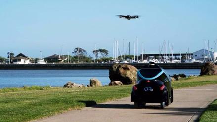 Un robot y un dron vigilarán las calles de Dubai